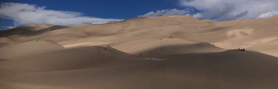Colorado/Albuquerque trip: Day 2, Climbing the Dunes