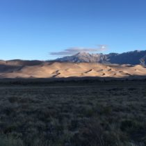 Colorado/Albuquerque trip: Day 2, Sunrise on the Dunes